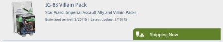 Imperial Assault Ally and Villain Packs now shipping