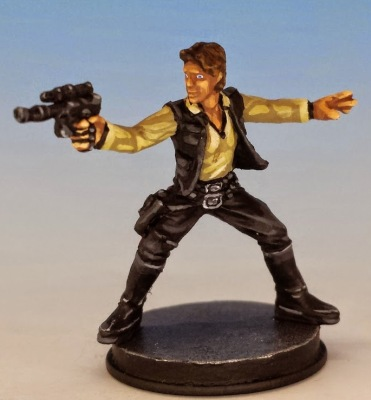 Han Solo painted and photographed by Matthew of www.oldenhammer.com
