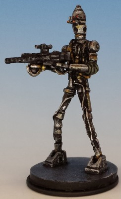 IG-88 painted and photographed by Matthew of www.oldenhammer.com