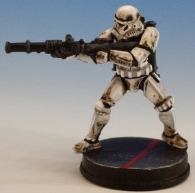 Heavy Stormtrooper painted and photographed by Matthew of www.oldenhammer.com