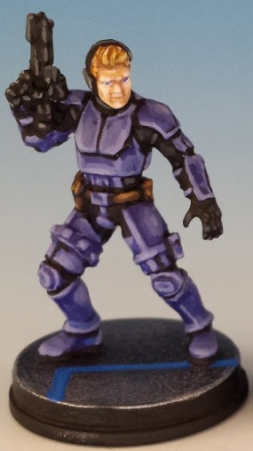 ISB Infiltrator painted and photographed by Matthew of www.oldenhammer.com