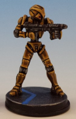 HK Assassin Droid painted and photographed by Matthew of www.oldenhammer.com