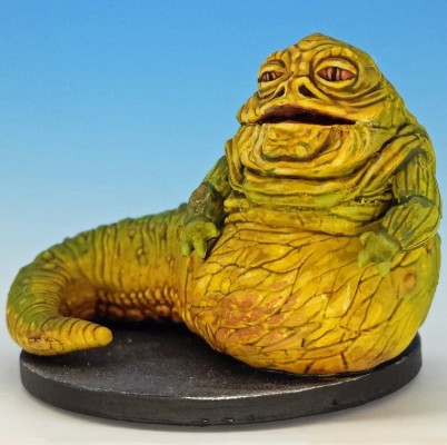Jabba the Hutt painted and photographed by Matthew of www.oldenhammer.com