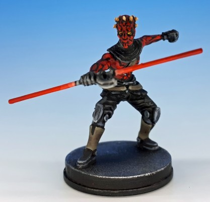 Maul painted and photographed by Matthew of www.oldenhammer.com